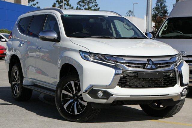 Used Mitsubishi Pajero Sport QE MY19 GLS Aspley, 2019 Mitsubishi Pajero Sport QE MY19 GLS White 8 Speed Sports Automatic Wagon