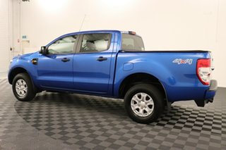 2017 Ford Ranger PX MkII XLS Double Cab Blue 6 speed Automatic Utility