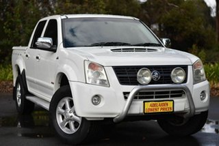 2007 Holden Rodeo RA MY07 LT Crew Cab White 4 Speed Automatic Utility.