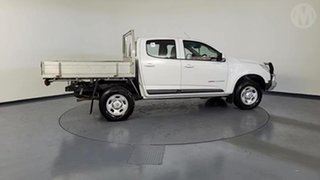 2016 Holden Colorado RG MY16 LS (4x4) White 6 Speed Manual Crew Cab Chassis