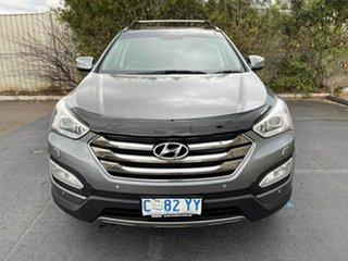 2013 Hyundai Santa Fe DM MY13 Highlander Titanium Silver 6 Speed Sports Automatic Wagon.