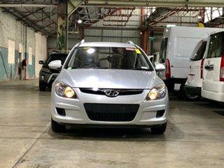 2009 Hyundai i30 FD MY09 SX cw Wagon Silver 5 Speed Manual Wagon.