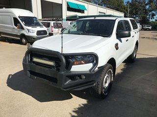 2017 Ford Ranger PX MkII XL Frozen White 6 speed Automatic Utility.