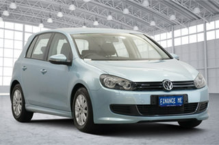 2012 Volkswagen Golf VI MY12.5 BlueMOTION Blue 5 Speed Manual Hatchback.