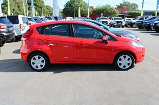 2012 Ford Fiesta WT CL Red 5 Speed Manual Hatchback