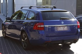 2016 Holden Commodore VF II MY16 SV6 Sportwagon Black Blue 6 Speed Sports Automatic Wagon.