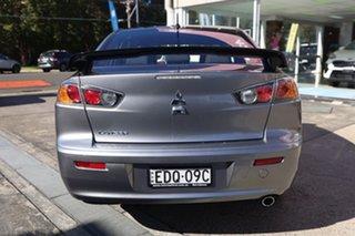 2017 Mitsubishi Lancer CF MY17 Black Edition Silver 6 Speed Constant Variable Sedan