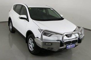 2016 Toyota RAV4 ASA44R MY16 GX (4x4) White 6 Speed Automatic Wagon