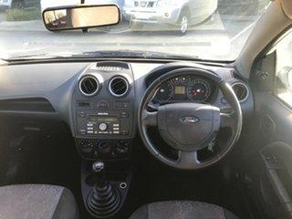 2007 Ford Fiesta WQ LX White 5 Speed Manual Hatchback.