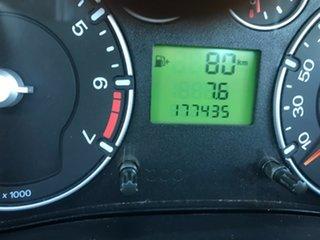 2007 Ford Fiesta WQ LX White 5 Speed Manual Hatchback