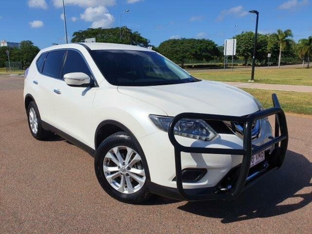 Used Nissan X-Trail T32 ST X-tronic 2WD Townsville, 2015 Nissan X-Trail T32 ST X-tronic 2WD White 7 Speed Constant Variable Wagon