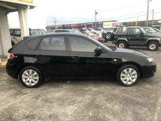 2007 Subaru Impreza S MY07 AWD Black 5 Speed Manual Sedan.