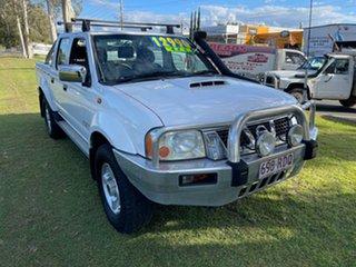 2009 Nissan Navara D22 MY2009 ST-R White 5 Speed Manual Utility