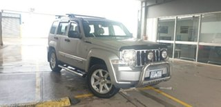 2011 Jeep Cherokee KK MY11 Limited Silver 4 Speed Automatic Wagon.
