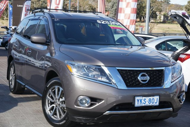 Used Nissan Pathfinder R52 MY15 ST X-tronic 2WD Phillip, 2014 Nissan Pathfinder R52 MY15 ST X-tronic 2WD Grey 1 Speed Constant Variable Wagon