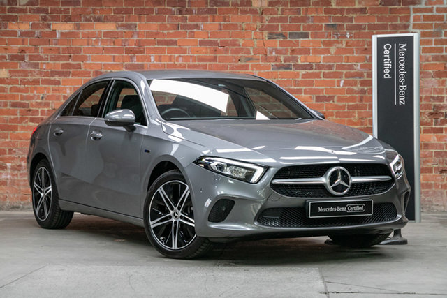 Certified Pre-Owned Mercedes-Benz A-Class V177 800+050MY A250e DCT Mulgrave, 2020 Mercedes-Benz A-Class V177 800+050MY A250e DCT Mountain Grey 8 Speed