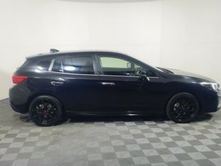 2017 Subaru Impreza G5 MY18 2.0i-S CVT AWD Black 7 Speed Constant Variable Hatchback.