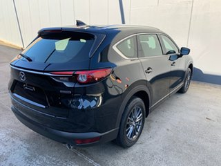 2021 Mazda CX-8 KG2WLA Sport SKYACTIV-Drive FWD Jet Black 6 Speed Sports Automatic Wagon
