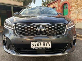 2018 Kia Sorento UM MY18 GT-Line AWD Platinum Graphite/black Leathe 8 Speed Sports Automatic Wagon