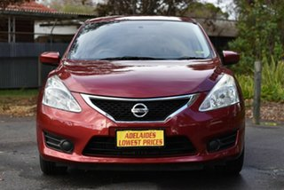 2013 Nissan Pulsar C12 ST Red 6 Speed Manual Hatchback.