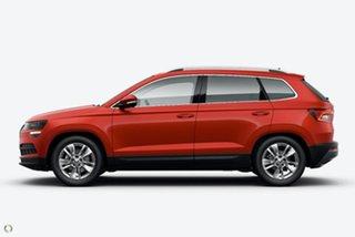 2021 Skoda Karoq NU MY21 110TSI FWD Red 8 Speed Automatic Wagon.