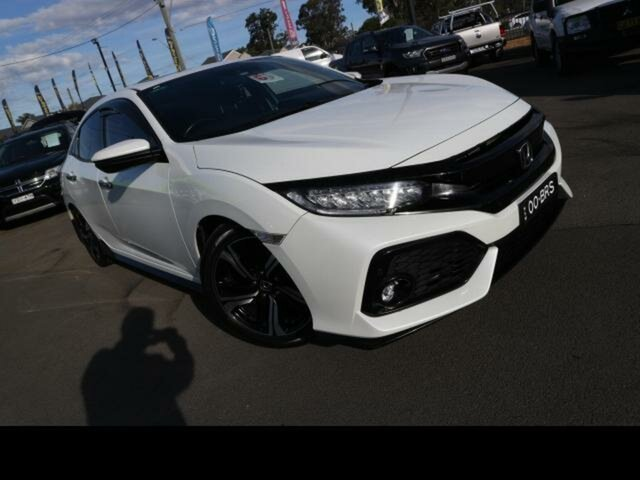 Used Honda Civic MY17 RS Kingswood, 2017 Honda Civic MY17 RS White Continuous Variable Hatchback