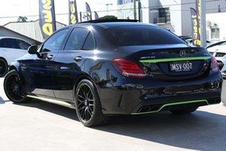 2016 Mercedes-Benz C-Class W205 807MY C63 AMG SPEEDSHIFT MCT S Obsidian Black 7 Speed.