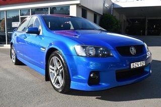 2011 Holden Commodore VE II SS Blue 6 Speed Sports Automatic Sedan