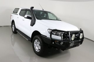 2017 Ford Ranger PX MkII MY18 XLT 3.2 (4x4) White 6 Speed Manual Double Cab Pick Up