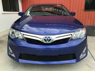 2012 Toyota Camry AVV50R Hybrid HL Blue 1 Speed Constant Variable Sedan Hybrid.
