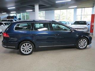 2014 Volkswagen Passat Type 3C MY15 130TDI DSG Highline Blue 6 Speed Sports Automatic Dual Clutch