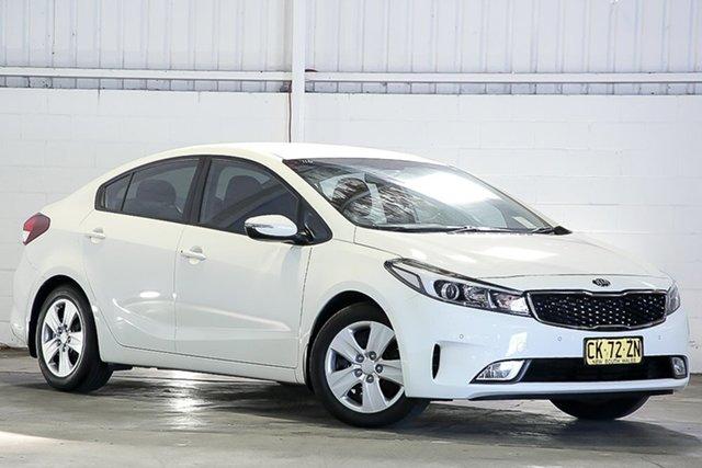 Used Kia Cerato YD MY17 S Erina, 2016 Kia Cerato YD MY17 S White 6 Speed Sports Automatic Sedan