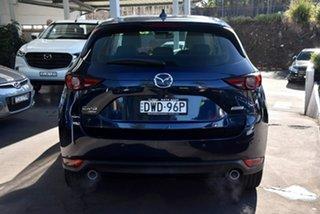 2018 Mazda CX-5 KF4WLA Akera SKYACTIV-Drive i-ACTIV AWD Blue 6 Speed Sports Automatic Wagon