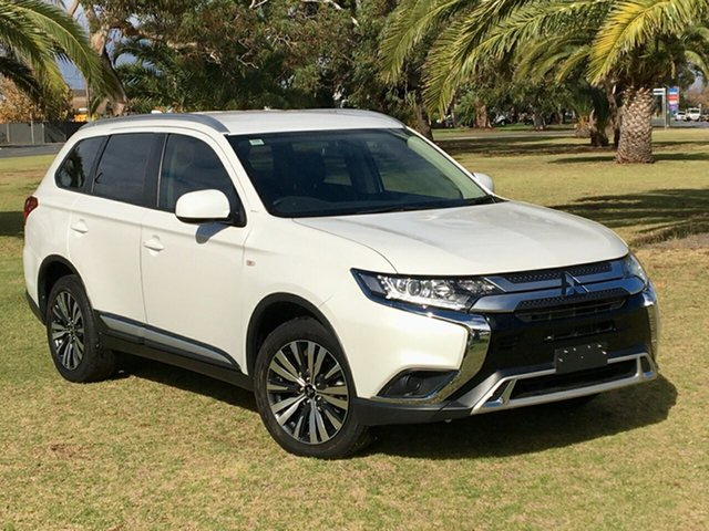 Used Mitsubishi Outlander ZL MY19 LS AWD Cheltenham, 2019 Mitsubishi Outlander ZL MY19 LS AWD White 6 Speed Constant Variable Wagon