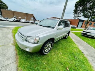 2006 Toyota Kluger MCU28R Upgrade CV (4x4) Silver 5 Speed 5 SP AUTOMATIC Wagon.