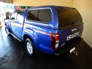 2019 Isuzu D-MAX TF MY18 LS-M HI-Ride (4x4) Blue 6 Speed Automatic Crew Cab Utility.