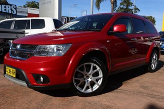 2015 Dodge Journey JC MY16 R/T Red 6 Speed Automatic Wagon.