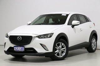 2015 Mazda CX-3 DK Maxx (FWD) White 6 Speed Automatic Wagon.