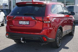2019 Mitsubishi Outlander ZL MY20 Black Edition 2WD Red 6 Speed Constant Variable Wagon