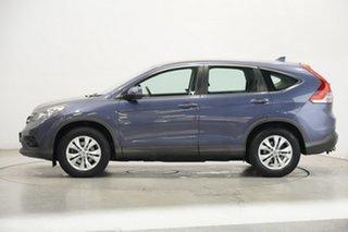 2014 Honda CR-V RM MY14 DTi-L 4WD Blue 5 Speed Sports Automatic Wagon.