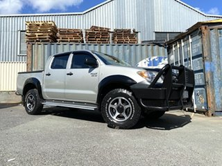 2005 Toyota Hilux GGN25R MY05 SR Silver 5 Speed Manual Utility.