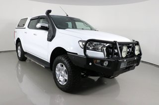 2017 Ford Ranger PX MkII MY18 XLT 3.2 (4x4) White 6 Speed Manual Double Cab Pick Up.