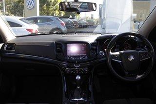 2016 Holden Commodore VF II MY16 SV6 Sportwagon Black Blue 6 Speed Sports Automatic Wagon