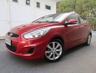 2019 Hyundai Accent RB6 MY19 Sport Red 6 Speed Sports Automatic Hatchback.