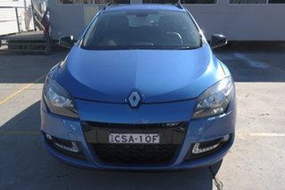 2013 Renault Megane III K95 MY13 Sport Sportwagon GT 220 Blue 6 Speed Manual Wagon.