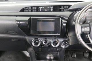 2016 Toyota Hilux GUN125R Workmate (4x4) White 6 Speed Manual Dual Cab Utility