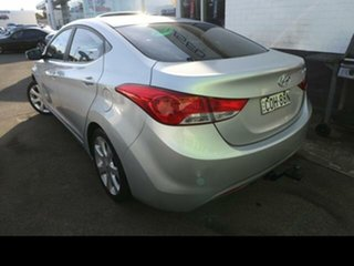 2012 Hyundai Elantra MD Premium Silver 6 Speed Automatic Sedan.
