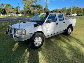 2009 Nissan Navara D22 MY2009 ST-R White 5 Speed Manual Utility.