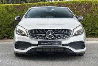 2016 Mercedes-Benz A-Class W176 806MY A200 D-CT Polar Silver 7 Speed Sports Automatic Dual Clutch