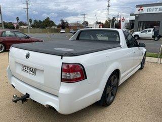 2011 Holden Commodore White Utility.